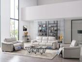 芝华仕 头等舱功能皮艺沙发欧式沙发真皮大小户型客厅整装组合5201高端电动多方位调节 进口头层牛皮