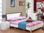 家百利 时尚童步系列 普通低箱 1.2米 儿童床