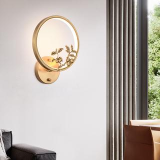 领秀照明 现代简约 铜8885(28W)壁灯(含光源)