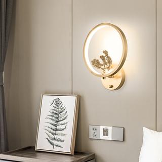 领秀照明 现代简约 铜8886(28W)壁灯(含光源)