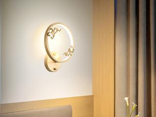 领秀照明 现代简约 铜8887(28W)壁灯(含光源)