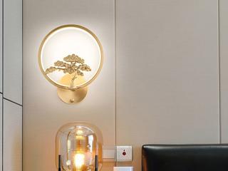 领秀照明 现代简约 铜8889(28W)壁灯(含光源)