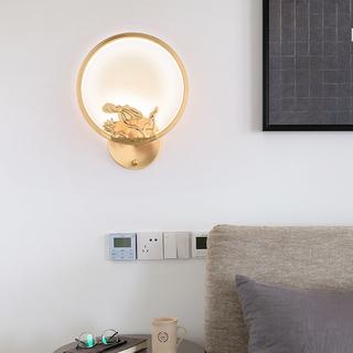 领秀照明 现代简约 铜8891(28W)壁灯(含光源)