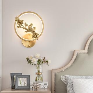 领秀照明 现代简约 铜8893(28W)壁灯(含光源)