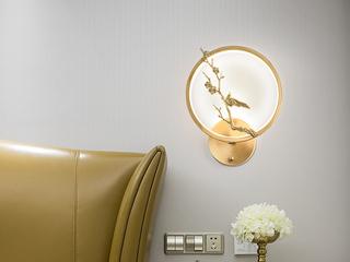 领秀照明 现代简约 铜8894(28W)壁灯(含光源)
