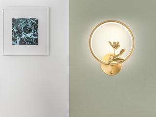 领秀照明 现代简约 铜8895(28W)壁灯(含光源)