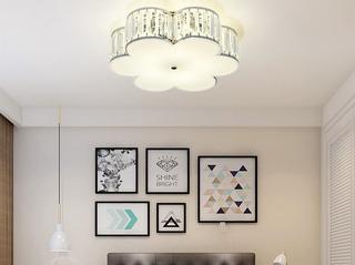 领秀照明 简欧 水晶灯体2658梅花500MM洛色吸顶灯(不含光源)