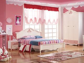 时尚童步系列甜心宝贝 低箱液压 1.2米 儿童床
