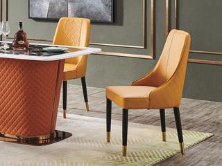 巴米尔 时尚美式轻奢 BCY05餐椅
