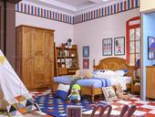 家百利多伦多 普箱1.35米 儿童床