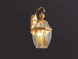 凯顿星月 欧式WA-3铜灯 3头壁灯(包邮)(不含光源)