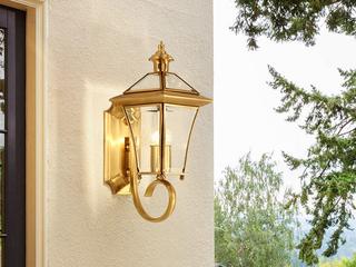 凯顿星月 欧式MC086-1W铜灯 单头壁灯(包邮)(不含光源)