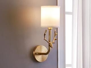 凯顿星月 美式MC560-1W铜灯 单头壁灯(包邮)(不含光源)