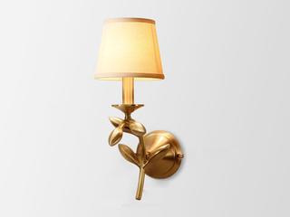 凯顿星月 美式MC801-1W铜灯 单头壁灯(包邮)(不含光源)