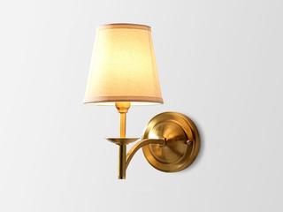 凯顿星月 美式MC312-1W铜灯 单头壁灯(包邮)(不含光源)