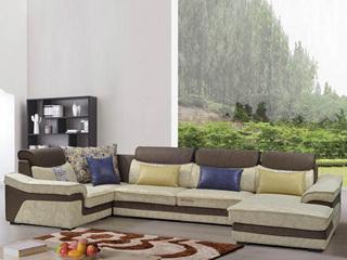 家百利 现代简约 沙发组合(1+3+贵妃+转角)