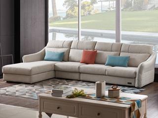 家百利 现代简约 LA-380A沙发组合(1+3+贵妃)