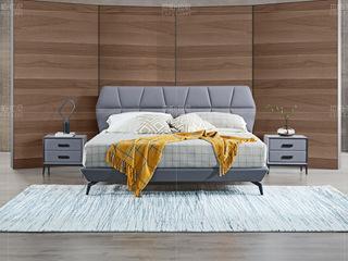 拉帕拉尼 极简系列 接触面进口头层真皮 灰色套床