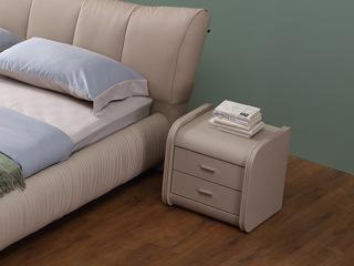 凤凰天 圆润防撞边角设计  简约时尚现在风格床头柜