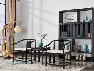 品匠坊现代新中式休闲椅