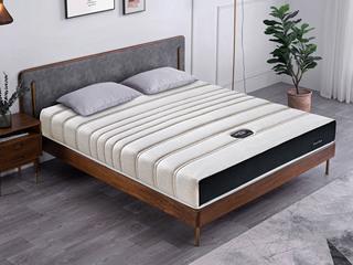 公爵A款 9区独立袋床垫 人棉纳米针织布面料 东南亚进口乳胶床垫 2.0*2.2米可定制床垫