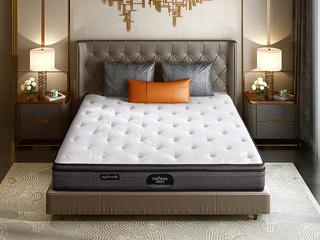 吉斯床垫 公爵B款 偏硬护脊双人床垫 纳米针织布 1.5*2.0米可定制床垫