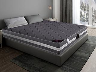 公爵C款 天然东南亚进口乳胶床垫 竹炭面料床垫 正反两用 静音独立袋弹簧 1.8*2.0米可定制床垫(包邮 送货到家)