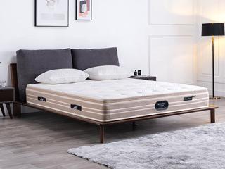 国王3D床垫 库布独立袋装弹簧 高克纳米针织面料 静音床垫 1.8*2.0米可定制床垫