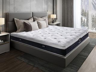 伯爵B款 9区独立袋弹簧床垫 东南亚进口乳胶垫 1.35*2.0米可定制床垫
