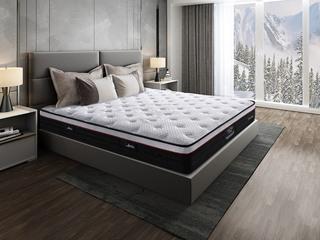 侯爵A款 天然东南亚进口乳胶床垫 高棉纳米针织面料 软硬两用床垫 2.0*2.2米可定制床垫