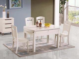 华辉 现代风格 白色餐椅(此价格为1把价格 需按2的倍数起售)