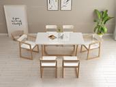 米勒 北欧风格 1.4米餐桌