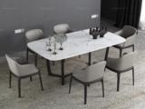 米勒 现代简约 白色大理石 1.6米餐桌