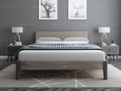 艺家 1.8*2.0米实木排骨架床 简约款