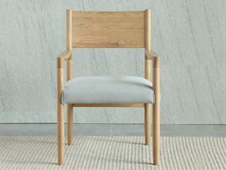 荣之鼎 北欧风格 北美进口白腊木书椅