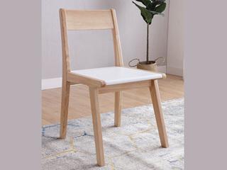 北欧风格 泰国进口橡胶木实木椅