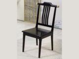 东方印记 新中式风格 泰国进口橡胶木餐椅