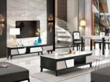金莱克 现代简约 钢化玻璃 电视柜