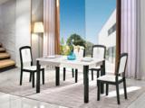 金莱克 现代简约 钢化玻璃 餐桌