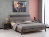 科隆印象 现代简约 高级灰 经济型卧室床 1.5*2.0米床