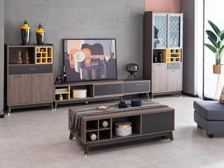 现代简约 高级灰 电视柜
