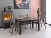 科隆印象 现代简约 高级灰 餐桌