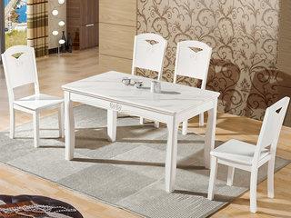 怡都 现代简约 大理石餐桌