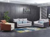 芬洛 现代简约 科技绒沙发组合(1+2+3)