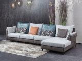 芬洛 现代简约 科技布+棉麻 转角沙发(1+3+左贵妃)