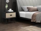 奢工 潮品系列 极简风格 802床 1.5*2.0米 头层黄牛皮床