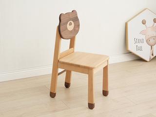 北欧印象 北欧风格 榉木坚固框架 手工木蜡油工艺 曲奇色 ET6502书椅