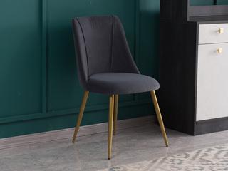 喔木居 轻奢风格 塔克系列 GY01餐椅