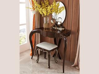圣妮斯 简欧系列 实木边框 J-205梳妆台组合(妆台+妆镜)