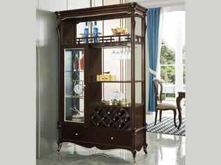 圣妮斯 简欧系列 实木边框 J-201 间厅柜